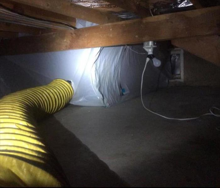 Containment in crawl space